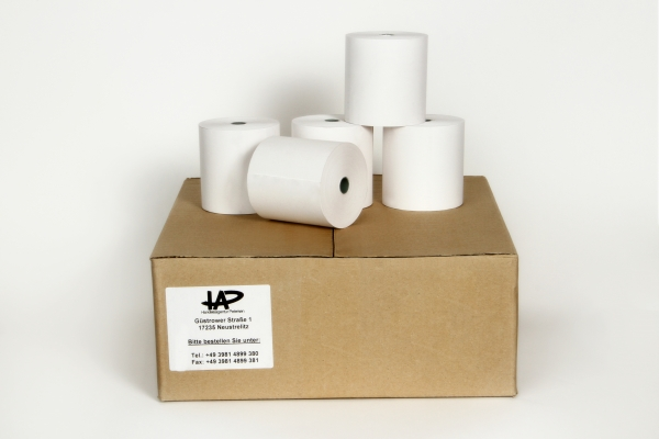 Thermorolle 80/80 m/12 Apotheke Rückseitendruck (50 Stk.) Bisphenol A (BPA) frei