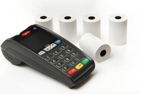 EC-Thermorolle 57/39/12, 18m BPA frei (50 Stk.) mit Lastschrifttext